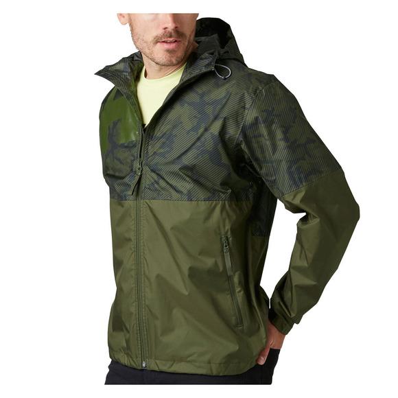 Pursuit - Manteau de pluie à capuchon pour homme