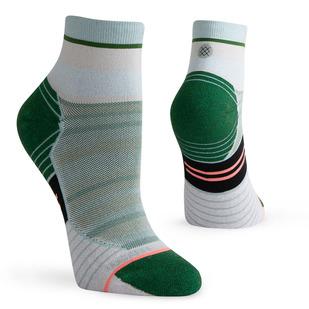 Varsity Stripe QTR - Women's Running Ankle Socks