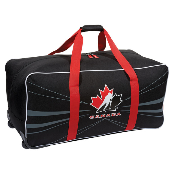 G0531 Team Canada - Junior Wheeled Hockey Equipment Bag