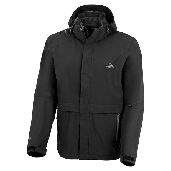 Ontario - Manteau imperméable à capuchon pour homme