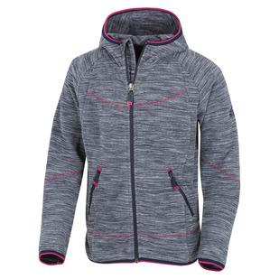 Choco II Jr - Girls' Hooded Fleece Jacket