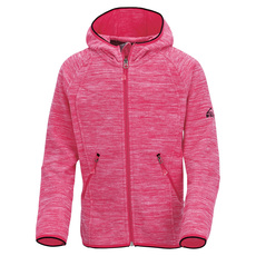 Choco II Jr - Girls' Hooded Fleece Jacket
