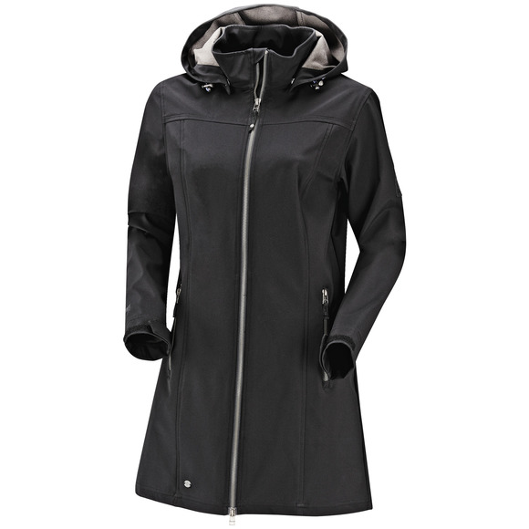 Kino II - Women's Hooded Long Softshell Jacket