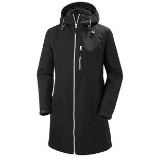 Long Belfast - Women's Hooded Rain Jacket