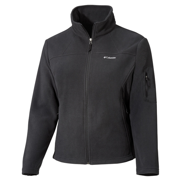 Fast Trek II Plus Size - Women's Full-Zip Fleece Jacket