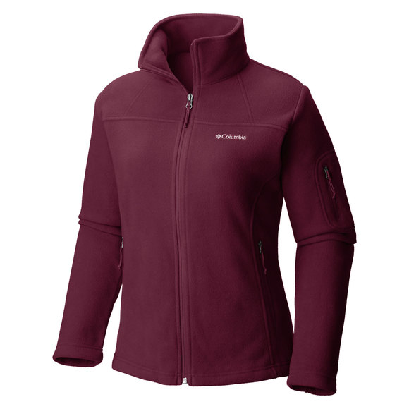 07befda3293 COLUMBIA Fast Trek II Plus Size - Women s Full-Zip Fleece Jacket ...