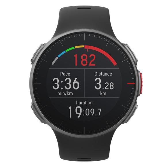 Vantage V - Montre haut de gamme avec GPS pour entraînements multisports et de triathlon pour adulte