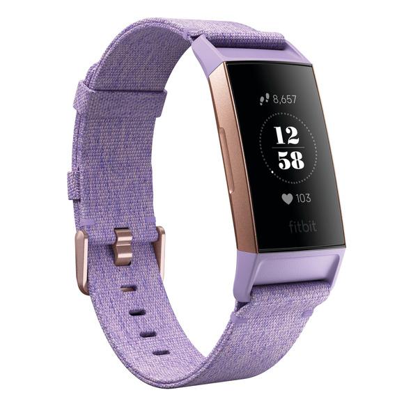 Charge 3 SE - Moniteur d'activités avec capteur de fréquence cardiaque au poignet