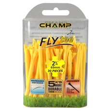 Fly Tees 2-3/4 po - Tés de golf (paquet de 30)