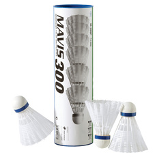 Mavis 300 - Nylon Shuttlecocks (Pack of 6)
