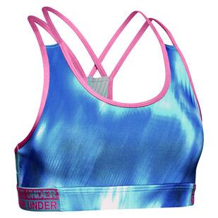 HeatGear Armour Novelty Jr - Girls' Sports Bra