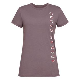 Vertical wordmark Graphic Classic - T-shirt pour femme