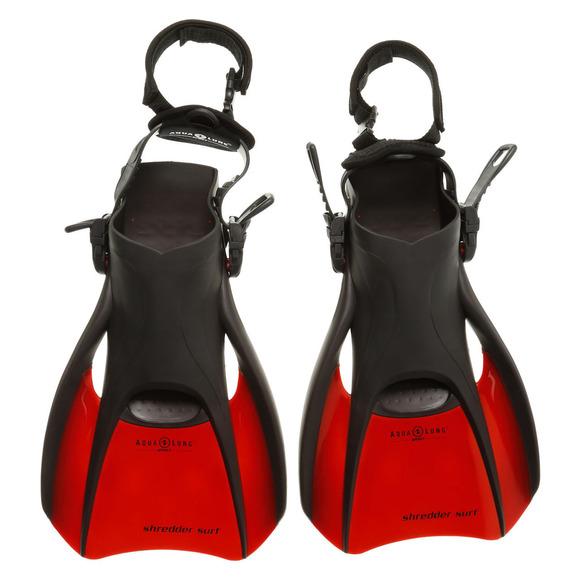 Shredder Surf II - Palmes compactes de voyage pour adulte (petit)