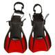 Shredder Surf II - Palmes compactes de voyage pour adulte (petit) - 0