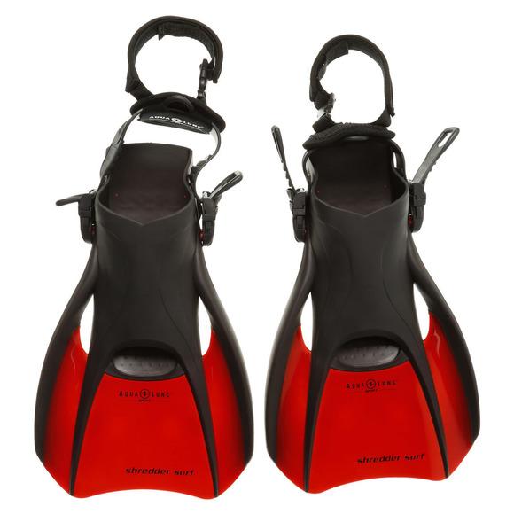 Shredder Surf II - Palmes compactes de voyage pour adulte (grand)