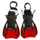 Shredder Surf II - Palmes compactes de voyage pour adulte (grand) - 0