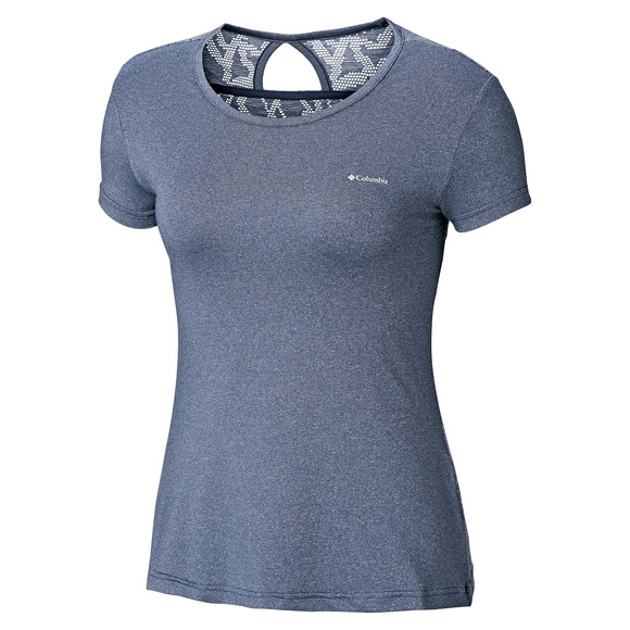 Femme To Columbia T Shirt Peak Point Pour b76gfy
