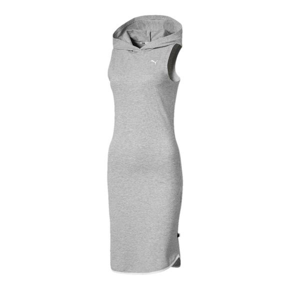 Summer - Robe sans manches à capuchon pour femme