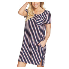 Stripe Renewal - Women's Tee Dress