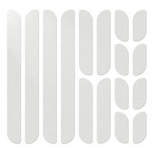 Reflective Frame - Ensemble de bandes réfléchissantes pour vélo (argent)