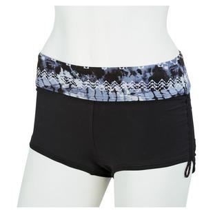 Emerald Lake Active Mini Boyshort - Culotte de maillot de bain pour femme
