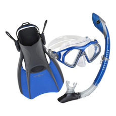 Trooper (Small) - Mask, Snorkel and Fins Kit