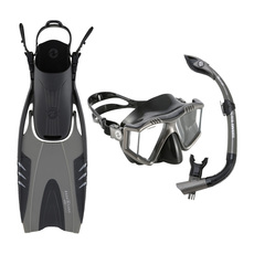 Prism Trio - Mask, snorkel and fins kit