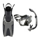 Prism Trio - Mask, snorkel and fins kit - 0