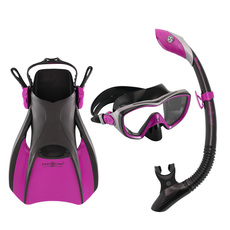 Trio Bonita (medium) - Mask, Snorkel and Fins Kit