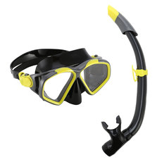 Pro Series Hawkeye Combo -  Adult Mask and Snorkel Kit
