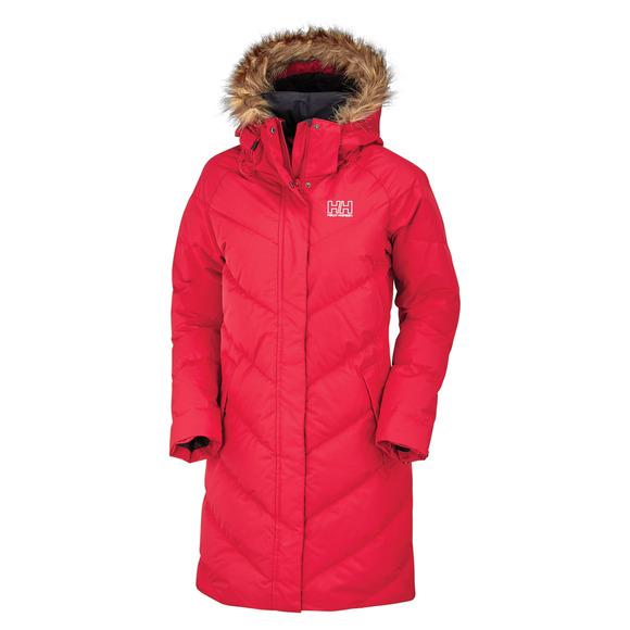 Aden - Manteau à capuchon en duvet pour femme