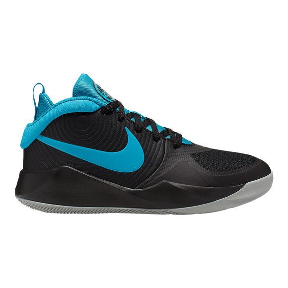 Team Hustle D 9 (GS) - Chaussures de basketball pour junior