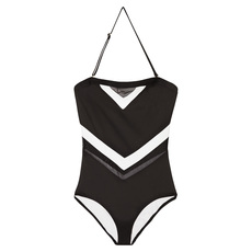 Colorblock Mesh - Women's One-Piece Swimsuit