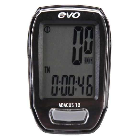 Abacus 12 - 12-function wireless cyclometer