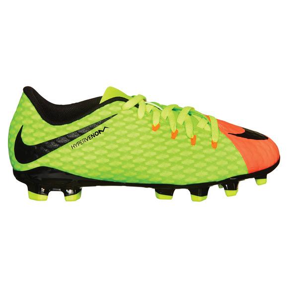 Hypervenom Phinish II FG Jr - Chaussures de soccer extérieur pour junior