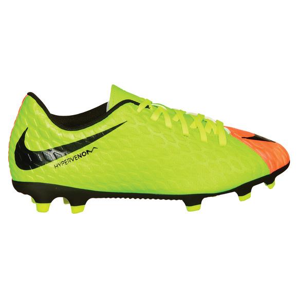 Hypervenom Phade III FG Jr - Junior Outdoor Soccer Shoes