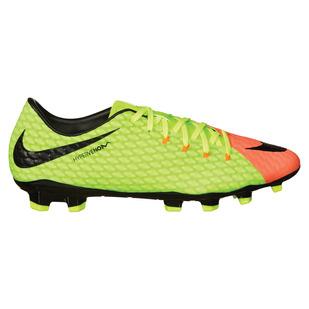 Hypervenom Phelon III FG - Chaussures de soccer extérieur pour homme adulte