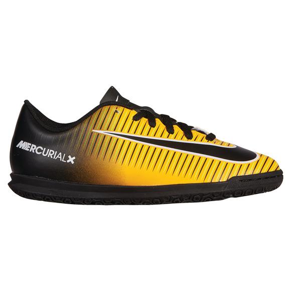 MercurialX Vortex III IC Jr - Chaussures de soccer intérieur pour junior