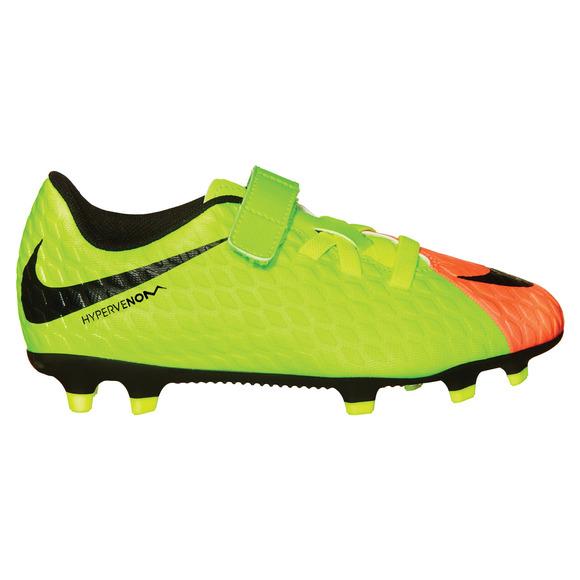 Hypervenom PHD III (V) FG Jr - Junior Outdoor Soccer Shoes