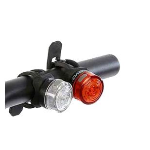 NiteLight Guardian - Ensemble de lumières pour vélo (blanche/rouge)