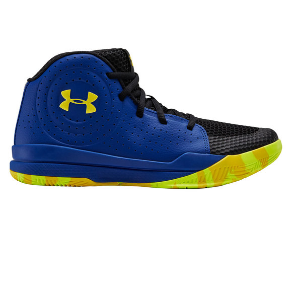 photos officielles d20d1 e41ec UNDER ARMOUR GS Jet 2019 - Chaussures de basketball pour junior