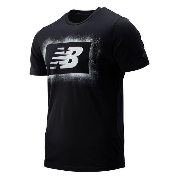Graphic Heathertech T - Men's Athletic T-shirt