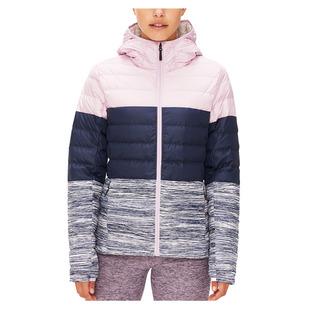 Emeline Color Block - Women's Down Insulated Mid-Season Jacket