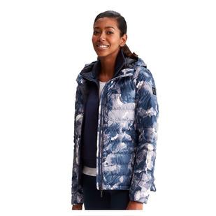 Emeline AOP - Women's Down Insulated Mid-Season Jacket