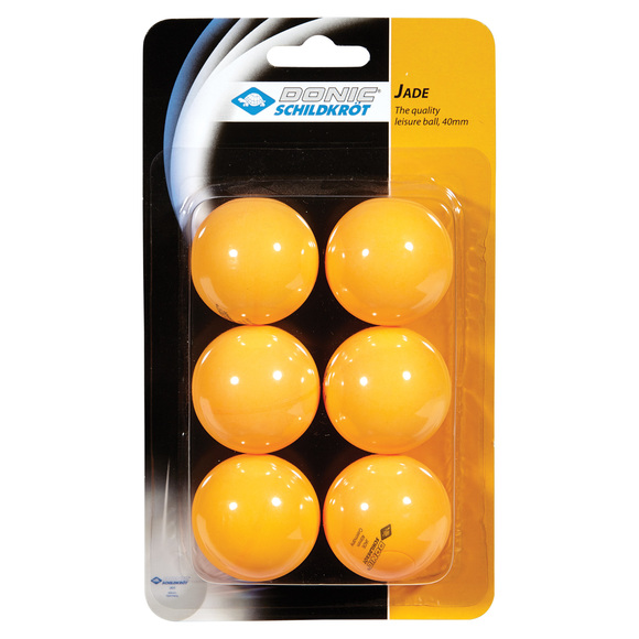 Jade - Table Tennis Balls (Pack of 6)