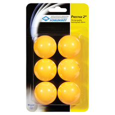Prestige 2* - Table Tennis Balls (Pack of 6)