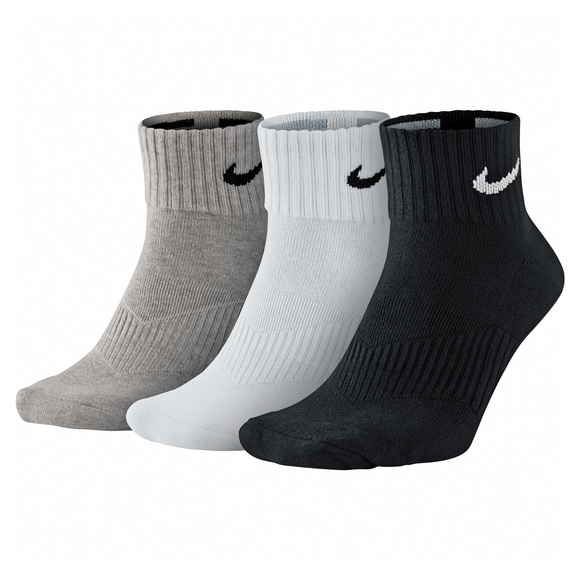 Performance Cushion - Adult's Ankle Socks (pack of 3 pairs)