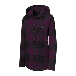 Brooke - Women's Hooded Long-Sleeved Shirt