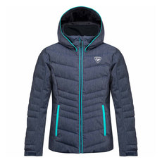 Polydown Denim - Manteau de ski alpin pour junior