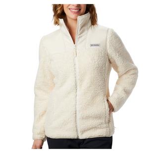 Winter Pass (Taille plus) - Blouson en laine polaire pour femme